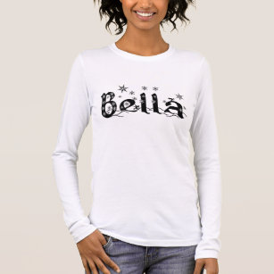 df966774 Bella (first name custom on request) - long sleeve T-Shirt