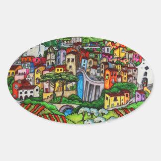 Bella Guardia Oval Sticker