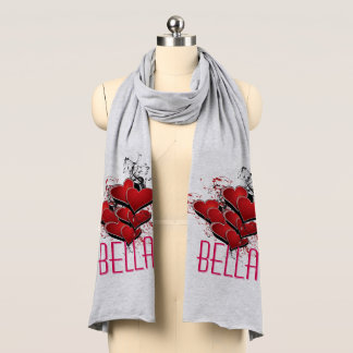 Bella Hearts on Fire Scarf