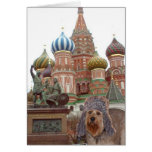 Bella In Moscow Greeting Card