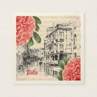 Bella Italy Paper Napkins