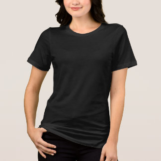 Bella Jersey T-Shirt Blank DIY add Text Image Colo