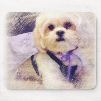 Bella Puppy Power Mouse Pad