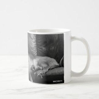 Bella the Bloodhound sleeping Coffee Mug