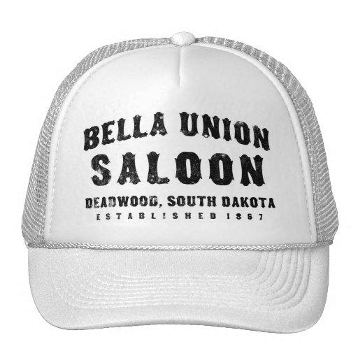 Bella Union Saloon Mesh Hat