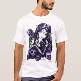 Belladonna Purple Skull Faery T-Shirt