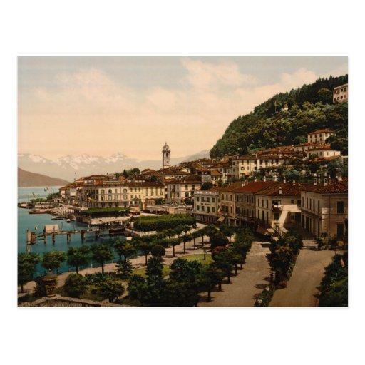 Bellagio II, Lake Como, Lombardy, Italy Postcard