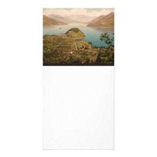 Bellagio Lake Como Photo Card Template