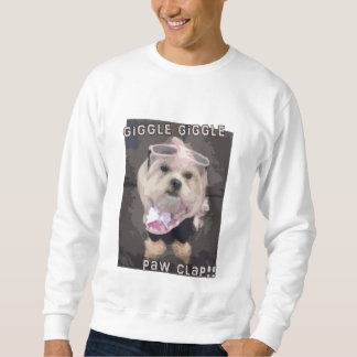 Bella's Giggle Giggle Paw Clap Sweatshirt