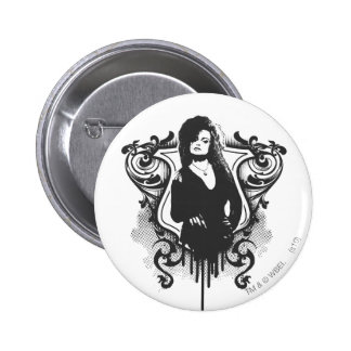 Bellatrix Lestrange Dark Arts Design 6 Cm Round Badge
