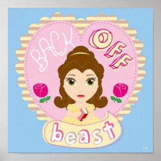 Belle   Back Off Beast Poster