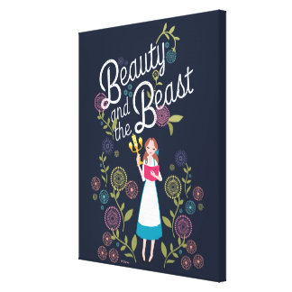 Belle | Beauty And The Beast Canvas Print