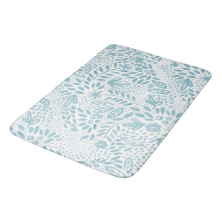 Belle Blue Bath Mat