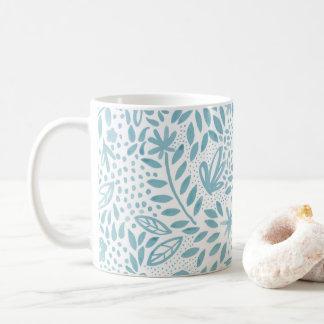 Belle Blue Floral Mug