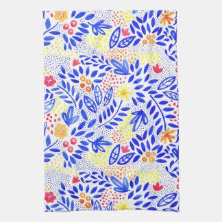 Belle Bold Floral Tea Towel