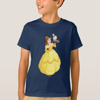 Belle | Books With Mrs. Potts And Chip T-Shirt