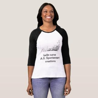 belle curve T-Shirt