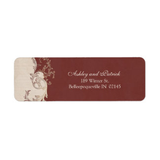 Belle Epoque Address Label