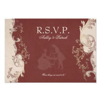 Belle Epoque RSVP Invitations