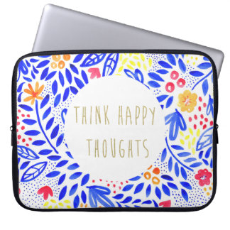 Belle Happy Thoughts Laptop Sleeve
