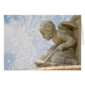 Belle Isle Fountain Card