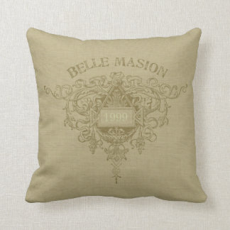 Belle Maison Pillow - Beige