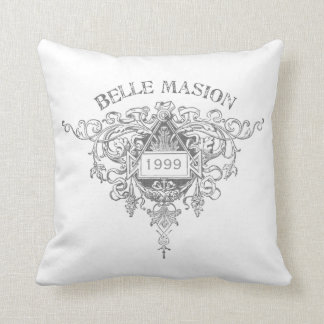 Belle Maison Pillow - White