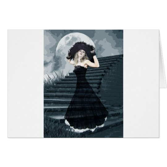 BELLE OF FULL MOON BALL CARD