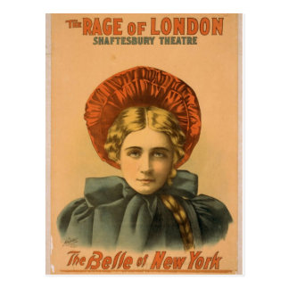 Belle of new york The Rage of London Vintage Th Postcards