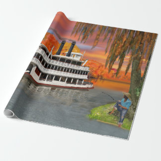 Belle of the Bayou Wrapping Paper