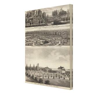 Belle Plaine, Kansas Stretched Canvas Prints