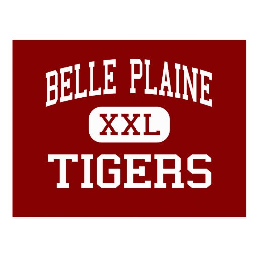 Belle Plaine - Tigers - Junior - Belle Plaine Postcard