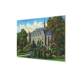 Belle Skinner Music Hall, Vassar College Canvas Print