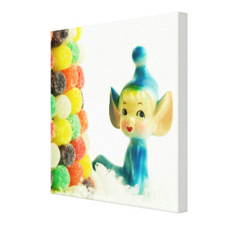 Belle the Pixie Elf Stretched Canvas Prints