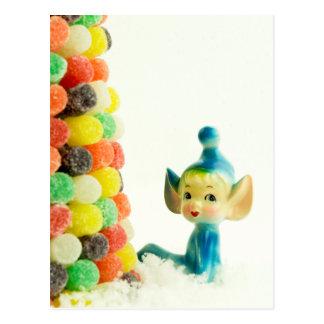 Belle the Pixie Elf Postcard