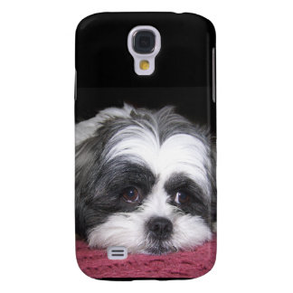Belle The Shih Tzu Dog Galaxy S4 Covers