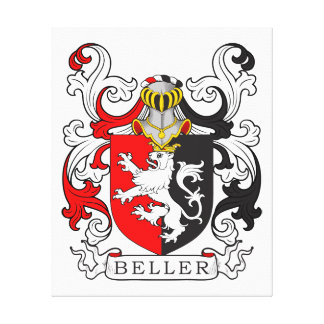 Beller Coat of Arms Canvas Print