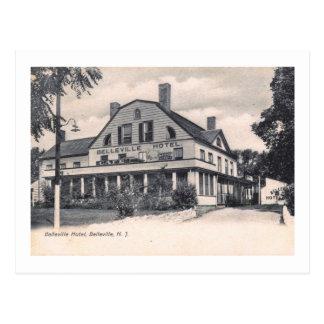 Belleville Hotel, Belleville, New Jersey Vintage Postcard