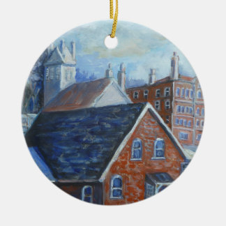 Belleville view ornament