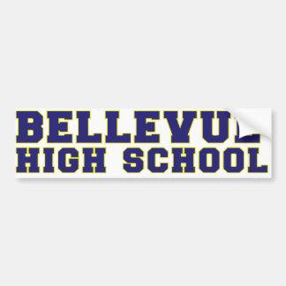 Bellevue High School Bumper Sticker