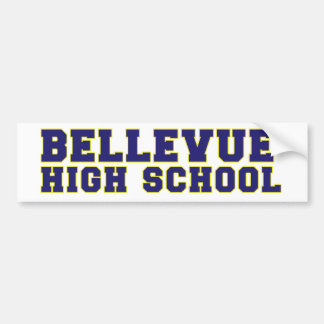 Bellevue High School Bumper Sticker