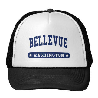 Bellevue Washington College Style t shirts Hats