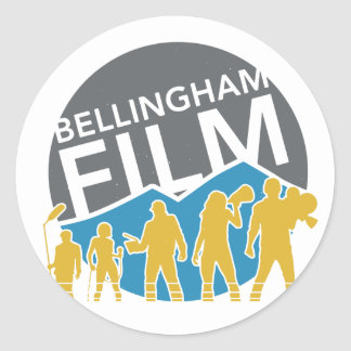 Bellingham Film Sticker Round