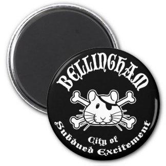 Bellingham Pirate 6 Cm Round Magnet