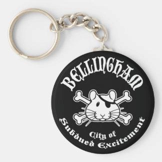 Bellingham Pirate Key Chain