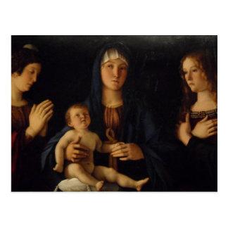 Bellini Madonna in Venice Postcard