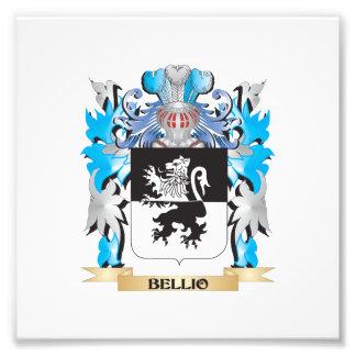 Bellio Coat of Arms Photo Art