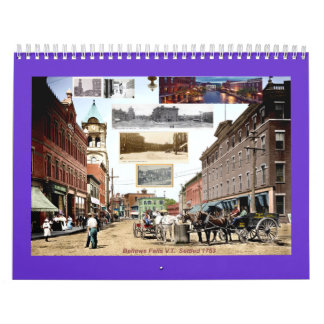 bellows falls history Custom Printed Calendar