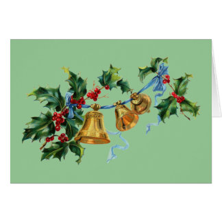 Bells and Berries Christmas Card