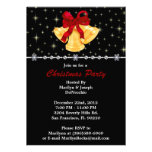 Bells and Bow CUTE Christmas Holiday Party Personalized Invites